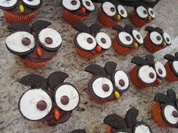 owl cupcakes spot of tea designs
