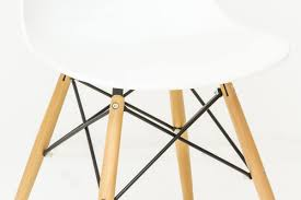 Esszimmerstuhl Venezia Polypropylen Stuhl Mit Holzbeinen Idfdesign