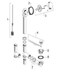 Bathtub Drain Assembly Installation Order Replacement Parts For American Standard 1583 Universal