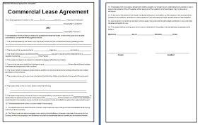 commercial property lease agreement free template attendance