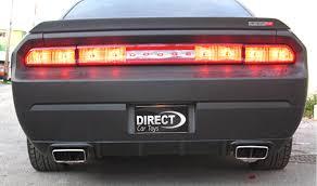Dodge Challenger Tail Lights - 2008 2012 dodge challenger srt8 tuner style rear bumper diffuser