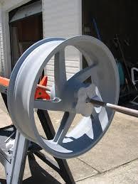 painting magnesium race wheels