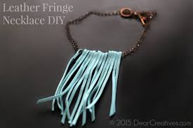 jewelry leather necklace images Easy diy projects two easy diy jewelry necklace projects jpg