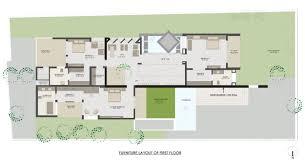 home designs dipen gada associates wall house first floor plan