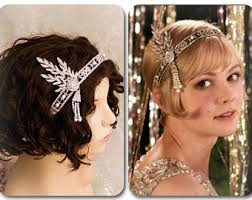 great gatsby headband great gatsby headband etsy