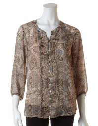 brown blouse brown chiffon blouse with cami cleo