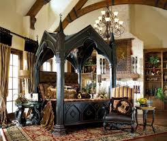 gothic home furnishings gothic canopy bed fashion forward custom