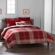 duds 6 plaid flannel comforter set
