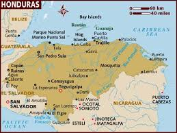 america map honduras map of honduras