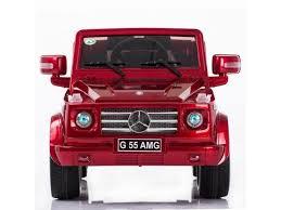 mercedes g55 ride on evezo 12v mercedes g55 ride on car w parent remote