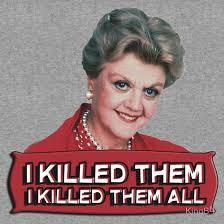 Murder She Wrote Meme - angela lansbury jessica fletcher murder she wrote confession i