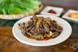 bulgogi korean bbq beef my korean kitchen