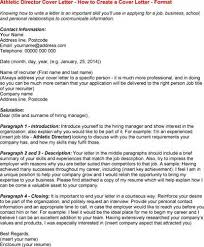 sample athletic director resume