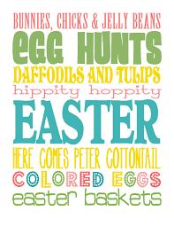 Printable Decorations For Easter easter decoration printables u2013 happy easter 2017
