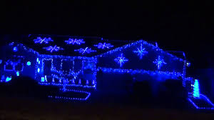 spirit halloween grand junction co blue christmas lights house in grand junction youtube