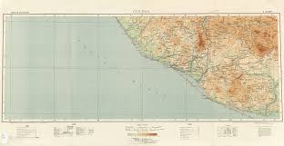 Colima Mexico Map by