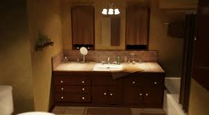 sparkling modern bathroom lighting idea with ceiling lights and
