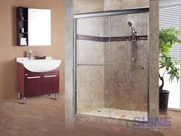 frameless glass doors for showers shower sliding doors categories shine bathrooms
