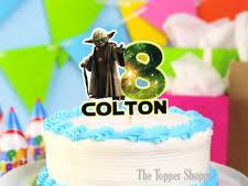 yoda cake topper wars cake topper ebay