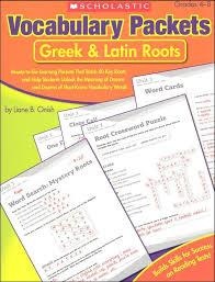 vocabulary packets greek u0026 latin roots 024824 details rainbow
