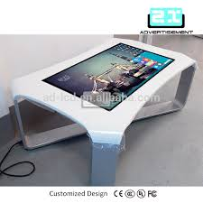 Interactive Meeting Table Stylish Touch Screen Conference Table With Touch Screen Conference