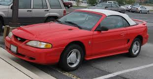 98 ford mustang for sale file 94 98 ford mustang convertible jpg wikimedia commons