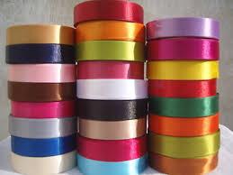 satin ribbon 25 rolls satin ribbon 25 colours 20 mm 3 4 rrp 50 00