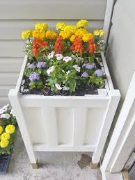 Planters Diy by Home Heart And Hands Diy Front Porch Planter With Gold Dipped Legs