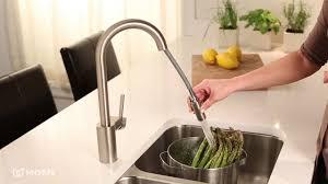 moen align pull down kitchen faucet youtube