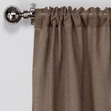 Rodeo Home Drapes by Amazon Com Exclusive Home Curtains Burlap Jute Rod Pocket Window