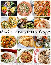 Cheap And Quick Dinner Ideas Link Love Quick And Easy Dinner Recipes For A Rainy Day