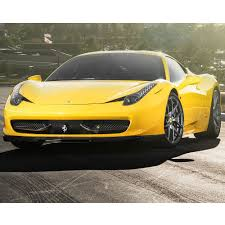 gold ferrari 458 italia 458 v aero front center splitter replacement fits ferrari 458 italia
