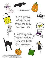 25 halloween poems kids ideas halloween