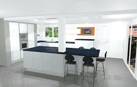 cuisine au milieu de la cuisine avec poteau au milieu 0 mur en intacrieur deco