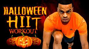 30 min halloween themed full body hiit workout youtube