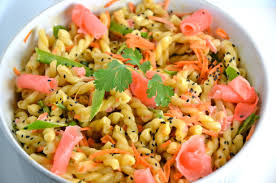 Pasta Salad Recipe Mayo by Pasta Salad With Wasabi Mayo And Pickled Ginger Enter Hellmann U0027s