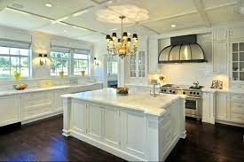 White Backsplash Tile For Kitchen Kitchen Marvelous Kitchen Design With Pretty Hanging Lamp Above