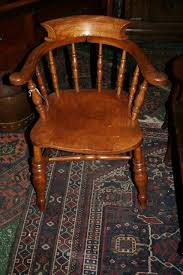 Antique Captains Chair Antique Smokers Bow Captains Chair Antiques Atlas