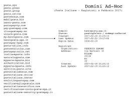 banco postaonline phishing analisi simulazione e contromisure