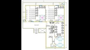 how to create complete 2d floor plan 6 typical office plan for
