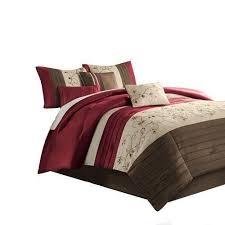 Maroon Comforter Cal King Comforter Set Ebay