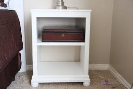 furniture marvelous c shaped nightstand give a perfect light for