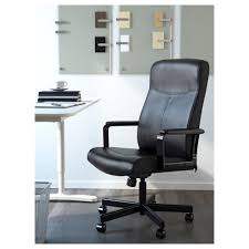 How To Stop Swivel Chair From Turning Millberget Swivel Chair Bomstad Black Ikea