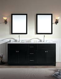 Standard Bathroom Vanity Dimensions Vanities For The Master Bath Corniche 75 White Double Sink
