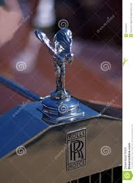 Rolls Royce Hood Ornament Editorial Stock Photo Image Of