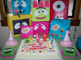 Yo Gabba Gabba Party Ideas by Yo Gaba Gaba Party Babygaga