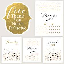 thank you cards free printable free printable and free