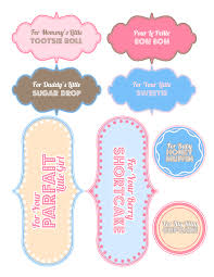 printable templates baby shower best photos of baby girl tags printable templates free printable