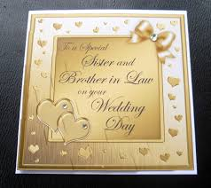 Wedding Message To Sister And Brother In Law Tbrb Info