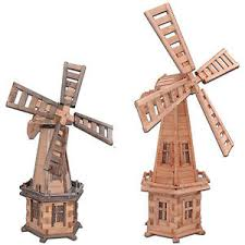 large wooden windmill 100 cm 235 cm wood windmills free p p